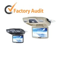 "8.5"" Flip-down Car Monitor/DVD player/SD/USB/FM/IR/MP4/DIVX"
