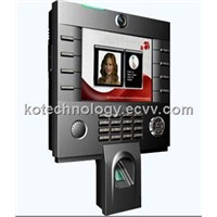 8'' TFT display, Fingerprint&RFID(ID) Time Attendance and Access Control Terminal iClock3800