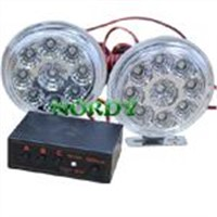 9W 12V  high power brightness LED Strobe light RDH20-04A