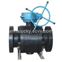 API Cast Steel Trunnion mounted Ball Valve