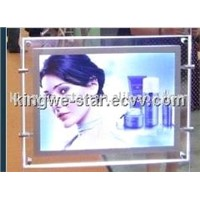 Acrylice frame LED light box with double sides