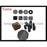 All kinds of Coal Briquette Display