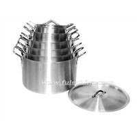 Aluminium Heavy Gauge Straight Pot(Cookware)