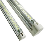 Aluminum + PC 8W / 12W / 18W / 25W SMD 3528 T5 LED Fluorescent Tube Replacement