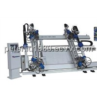 Aluminum Window And Door Machine-CNC Vertical Four-point Corner Crimping Machine
