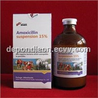Amoxicillin injection 15% for vet use