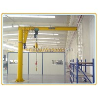 BX Type Wall Pillar Rotary Arm Crane with ISO certificate