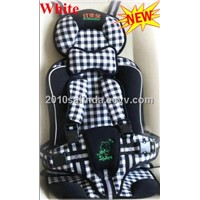 Baby/Kid/Toddler Car Safety/Safe Booster Seat Cover Harness Cushion-White