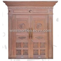 Bronze Door with Mosaic Type Thong, Made of Copper/Brass, Customized Specifications are Accepted