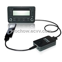 CD changer adapter for iPod/iPhone with Bluetooth