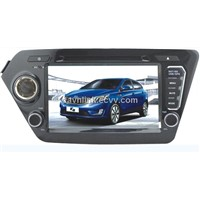 CL-3023,Car GPS DVD Player for KIA K2; 8 inch Screen;