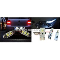 Can bus Led-T10-wedge-4x5050smd, led car light, 5050 smd auto lamp, led car lighting, led auto lamp