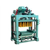 Cement (concrete) block Molding Machine