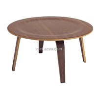 Charles Eames Round Plywood Table