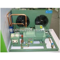 Condensing unit with Bitzer semi-hermetic piston compressor