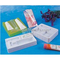 Cosmetics blister tray