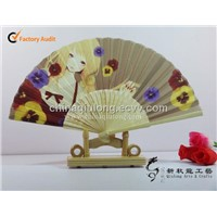 Custom All Kinds of Bamboo Hand Fan,Craft Gift Fan
