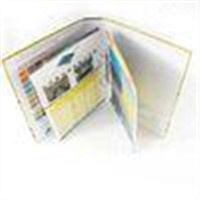 Customized Catalog Full Color Booklet Printing with Wire ring binding for promotion