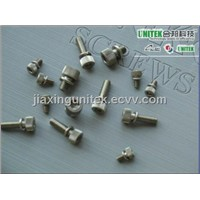 DIN912 SS304 Hexagon Socket Knurled Head Sems Cap Screws