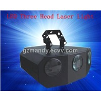 DJ Stage Lighting LED Three Head Laser Light