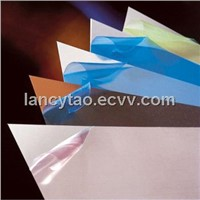 Decorative laminate protectve film