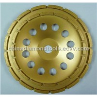 Double Row Cup Wheel for Concrete-Segmented Grinding Wheel