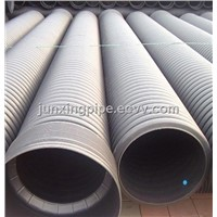 Double-wall corrugated pipe for water drainage Size 200mm to 800mm