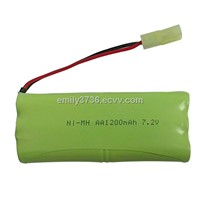 EPT 7.2V AA NIMH Rechargeable battery pack for RC toys