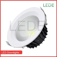 Epistar High quality Recessed 12W Dimmable LED ceiling Light COB LED down light