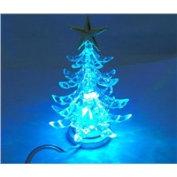 Flashing tree with 7-colors change, USB ABS Christmas Trees, Christmas Gifts