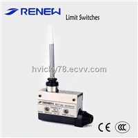 Flexible rod type limit switch