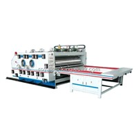 Flexo Printing and Slotting Machine