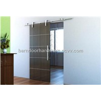 Free Shipping European Modern Stainless Barn Style Sliding Wood door hardware