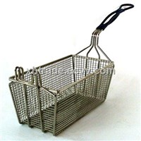 Long Handle Fryer Basket