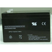 GEL motorcycle battery 12v 7Ah