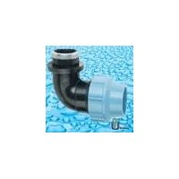 HDPE Fitting PP Compression Fittings(Italy Standard) pe Female Elbow