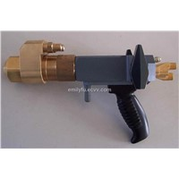 HVOF powder coating gun