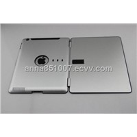 Hard Cover/Case Protector for iPad 2, Available in Gray, Made of Aluminum