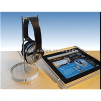 Headphone Display Stand/ earphone display holder for apple store