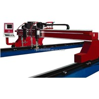 Heavy duty CNC gantry cutting machine