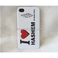 Helloween gift ghost design silicone case for iphone4
