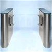 High security optical turnstiles speed gate with self check, alarm function, auto stop