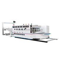 High speed Flexo Printing, Slotting and Die-cutting Machine