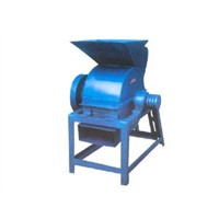 Horizontal screen coal crusher