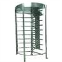 Indoor & outdoor full height turnstiles with access card reader for time attendance, wharf