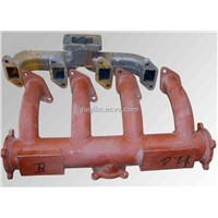 Intake and Exhaust Pipe for Diesel Engine Part
