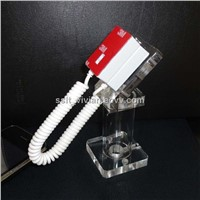 Iphone Acrylic Security Display Stand/ Mobile phone acrylic stand