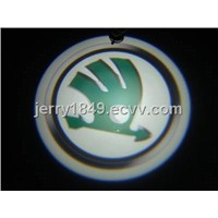 LED Auto Logo Laser Lights for 2012 NEW Skoda