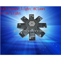 LED Light - Stage Lighting LED Effect Light LED Laser 8Claws Light