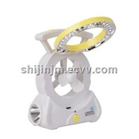 LED charger mobile lighitng, move lighting with fan